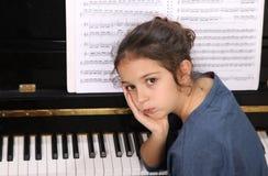 Pianokurs Royaltyfri Bild