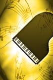 PianoMusic royalty free illustration