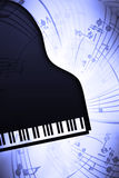 PianoMusic vector illustration