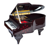 Pianomuziekdoos Stock Fotografie