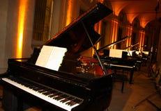 pianos fotografia de stock royalty free