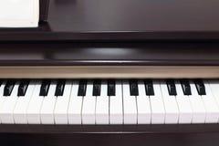 Pianos eléctricos clásicos Fotos de archivo libres de regalías