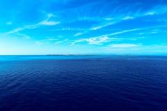 Pianosa flat island Tuscan Archipelago Stock Photography