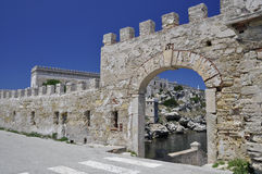 Pianosa old harbor entrance Royalty Free Stock Image