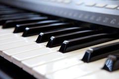Pianosleutel Royalty-vrije Stock Afbeelding