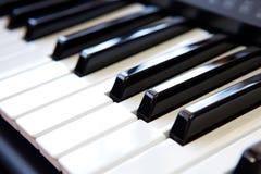 Pianosleutel Stock Foto's