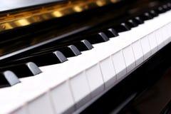 Pianosleutels Royalty-vrije Stock Foto