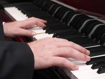 Pianospelare Arkivbilder