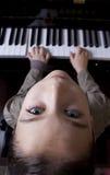 pianospelare Fotografering för Bildbyråer