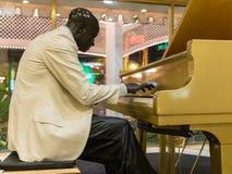 Pianospelare Royaltyfria Bilder