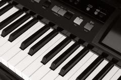 Pianostudy fotografía de archivo libre de regalías
