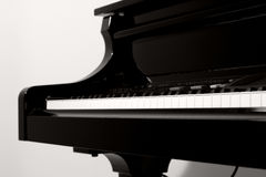 Pianostudy Royalty Free Stock Photos