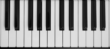 Pianot stämm Royaltyfria Bilder