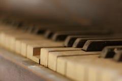Pianotangent Arkivfoton