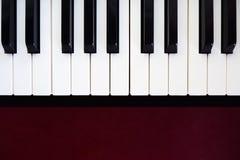 Pianotangent Abstrakt begrepp- och konstbakgrund klassisk instrumentmusik Royaltyfri Fotografi