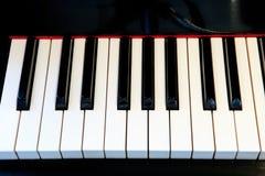 Pianotangentbord Arkivfoton