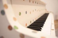 Pianotangentbord Fotografering för Bildbyråer