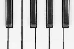 Pianotangentbord Royaltyfri Foto