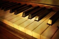pianotappning Arkivfoto