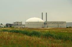 Pianta 12 del biogas Fotografia Stock Libera da Diritti
