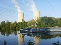 Pianta atomica in Grafenrheinfeld Fotografia Stock Libera da Diritti
