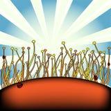 pianta bizzarro royalty illustrazione gratis