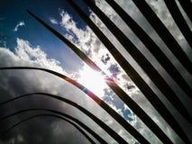Pianta contro il cielo Fotografia Stock
