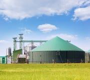 Pianta del biogas Fotografie Stock Libere da Diritti