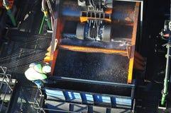 Pianta del lavaggio del carbone Fotografia Stock Libera da Diritti
