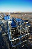 Pianta del lavaggio del carbone Fotografia Stock