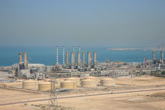 Pianta del rifornimento idrico della Doubai Fotografia Stock