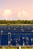 Pianta del riscaldamento solare Immagine Stock