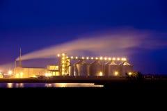 Pianta dell'etanolo Immagini Stock