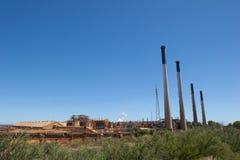Pianta della centrale elettrica di Kwinana Immagine Stock
