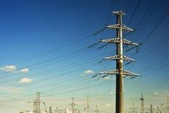 Pianta di elettricità immagini stock libere da diritti
