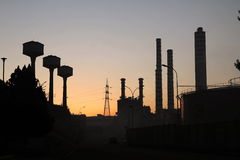 Pianta di energia Fotografie Stock
