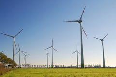Pianta di energia del vento Immagine Stock Libera da Diritti