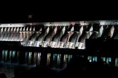 Pianta di forza idroelettrica di Itaipu fotografia stock