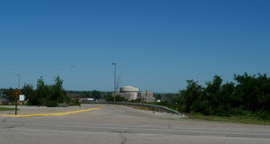 Pianta di Omaha Public Power District Nuclear Immagine Stock
