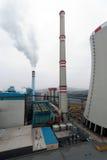 Pianta di potenza infornata carbone Fotografia Stock Libera da Diritti