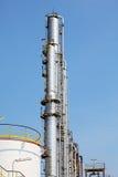 Pianta di raffineria del gas e del petrolio Fotografie Stock Libere da Diritti