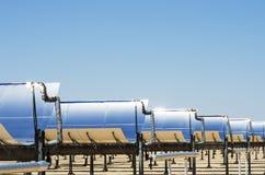 Pianta elettrica termica solare Fotografia Stock