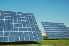 Pianta fotovoltaica Immagini Stock Libere da Diritti