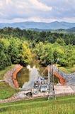Pianta idroelettrica di Chatuge Fotografia Stock