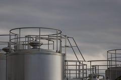 Pianta industriale Fotografia Stock Libera da Diritti
