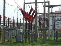 Pianta industriale di elettricità Fotografia Stock