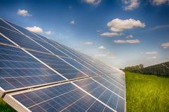Pianta solare Immagine Stock