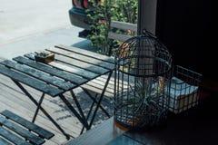 Pianta in una gabbia Fotografia Stock Libera da Diritti