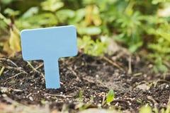 Piantando nel giardino Fotografia Stock Libera da Diritti