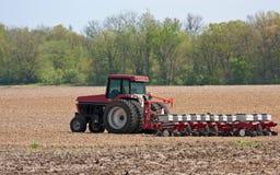 Piantatura del cereale Immagini Stock Libere da Diritti